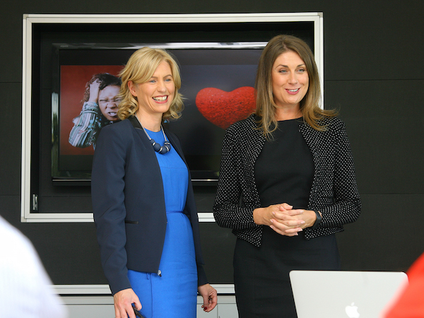 Camilla Long and Sarah Travers, Public Speaking Coach