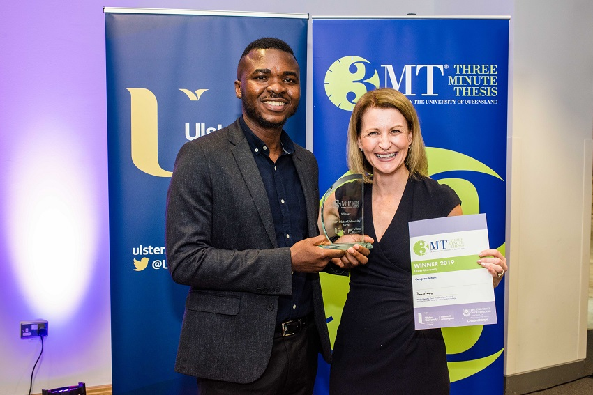 3MT Ulster University Winner