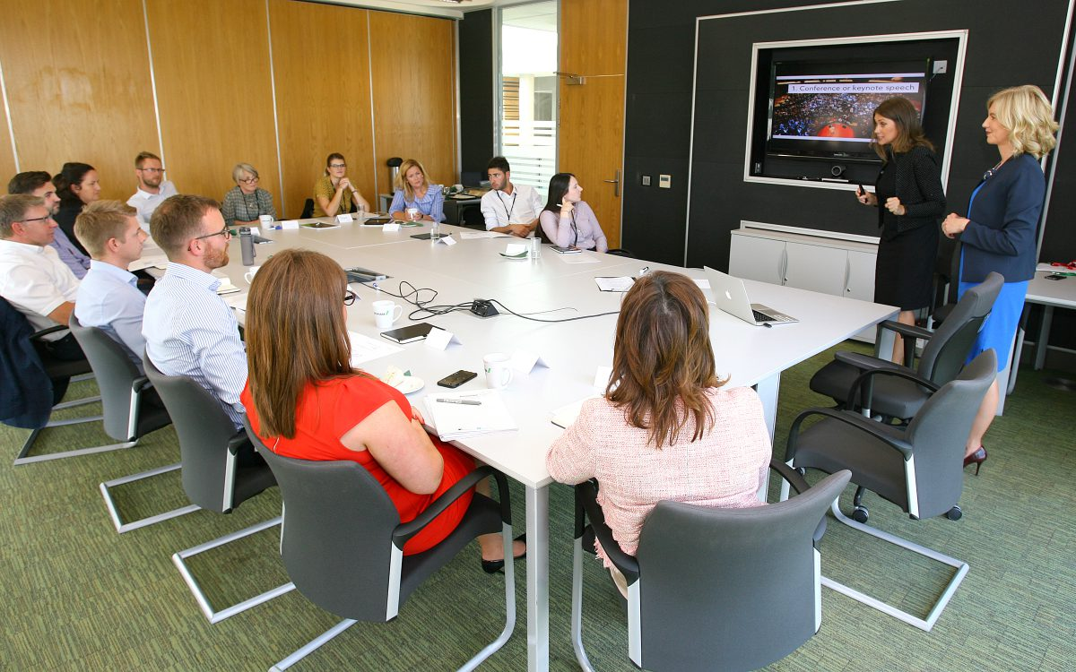 public speaking training London