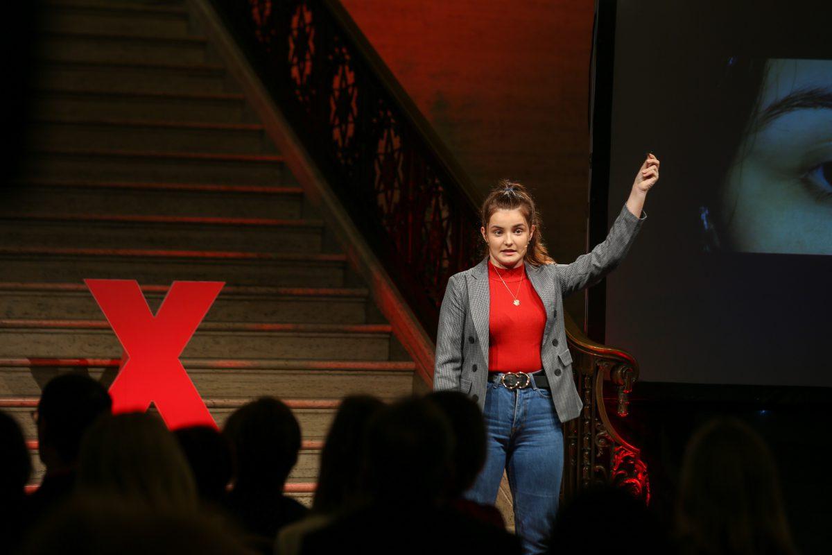 TEDx talk public speaker